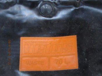 Tank Waste Gummi/plast 70 l