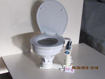 Toilet Jabsco M/twist'n Lock